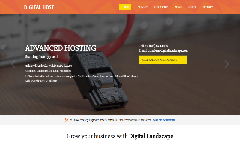 Digital Hosting