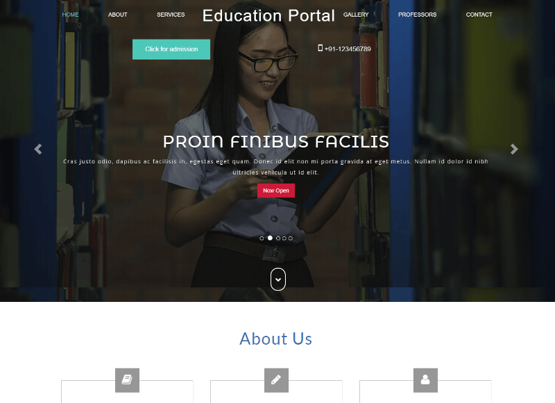 Educational Portal