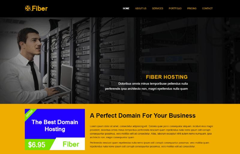 Fiber hosting