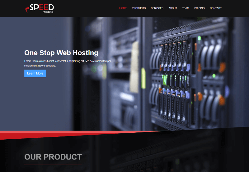 Speed Hosting