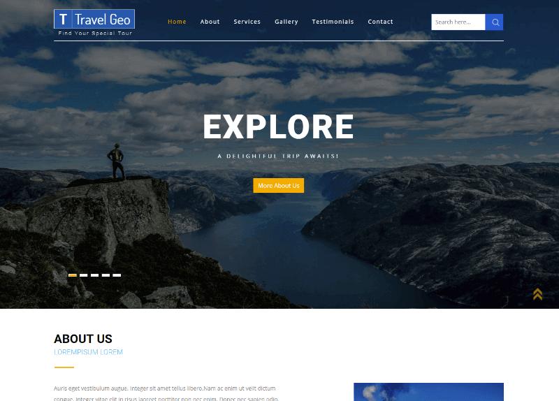 30 Best Free Html Website Templates 2019 Digital Template