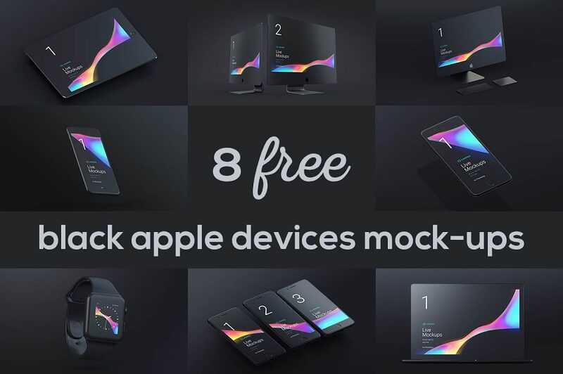 8 Free Black Matte Devices