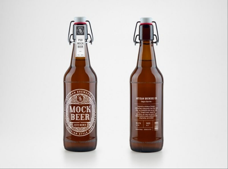 Artisan Beer Bottle