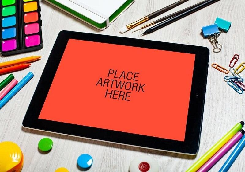 Artistic Workspace iPad