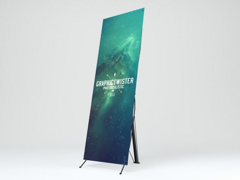 17 Best Free Banner Mockups - DigitalTemplateMarket