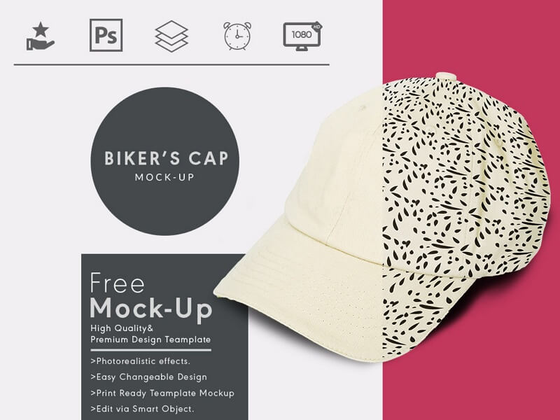 2f940541e25 Changing design and logo on this cap mock-up is super easy. This mockup  template comes with 3000 x 3500-pixel high-resolution file ultimate  presentation of ...
