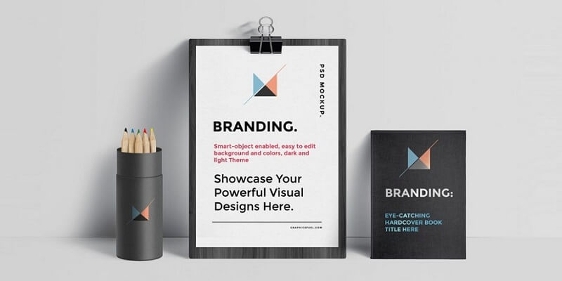 Free Branding Identity Stationery Mockups