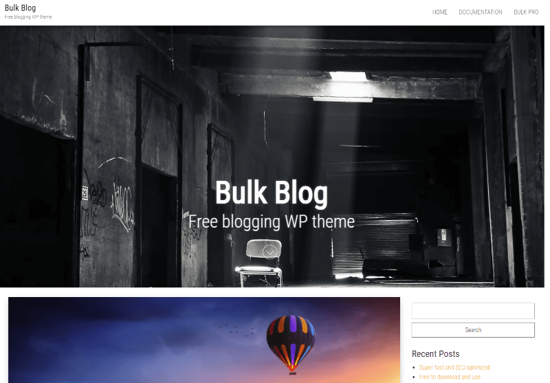 Bulk Blog