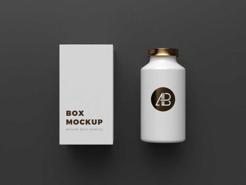 Copper Foil Bottle Packaging