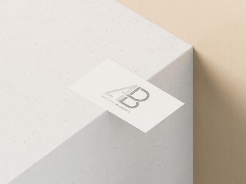 Cutout Business Card