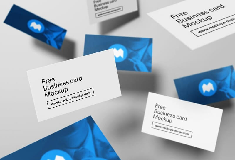 Flying Business Cards