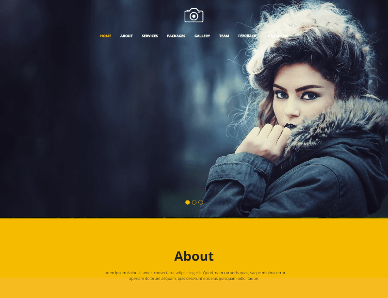 25 Best Free Photography HTML Website Templates 2019