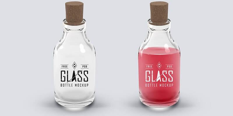 Free Bottle Mockups