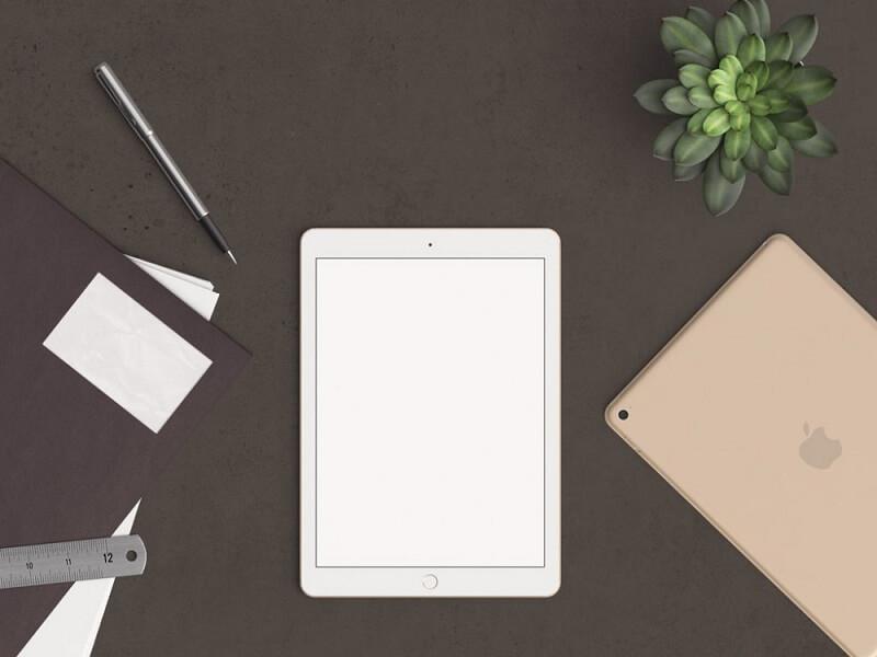 Header Image with iPad