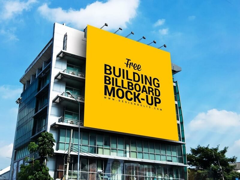 Huge Outdoor Building Billboard