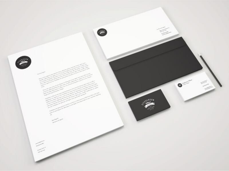 Identity Branding Stationery