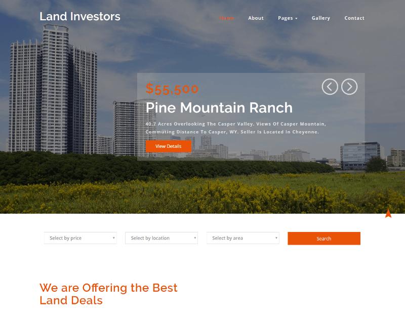 Land investor