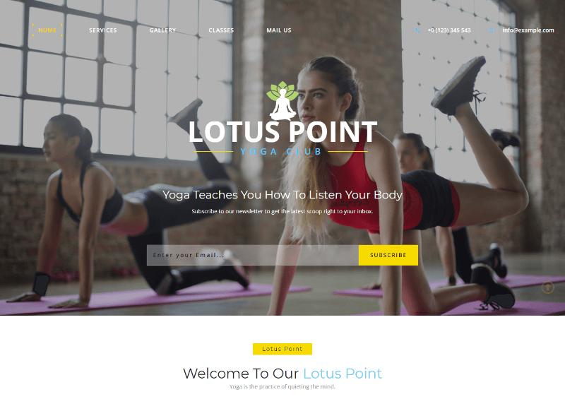 Lotus point