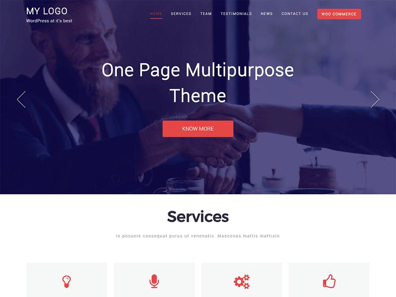 OnePage Multipurpose