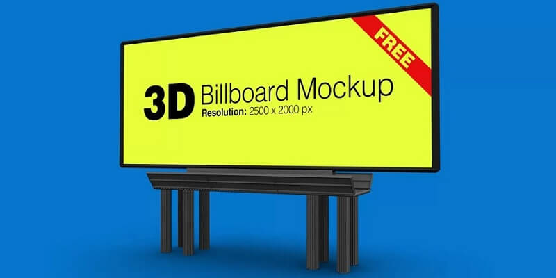 Free Billboard Mockups