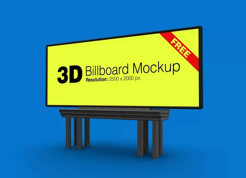 Outdoor Advertising 3D Billboard