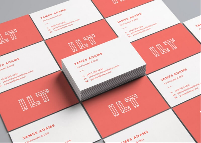 Perspective Business Cards