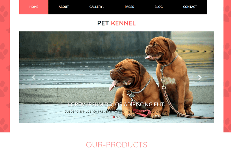 26 Best Free Animals Pets HTML Website Templates 2019