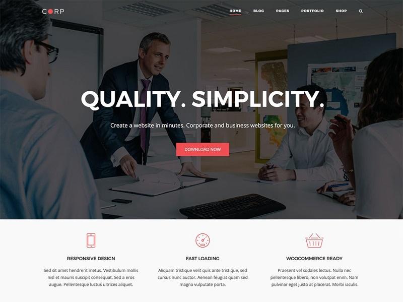 Free Landing Page WordPress Themes