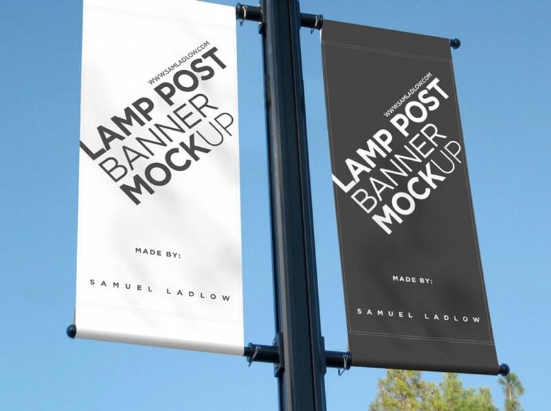 Smart Lamp Post Banner