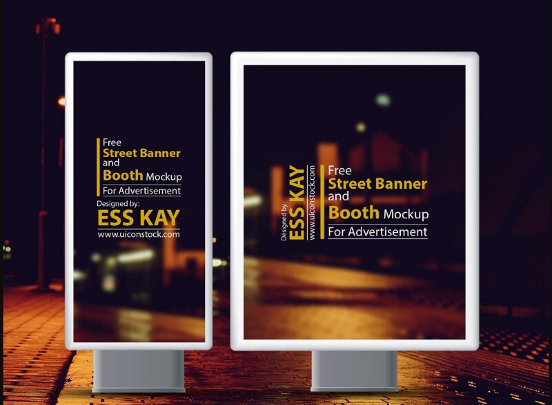 Street Banner and Booth