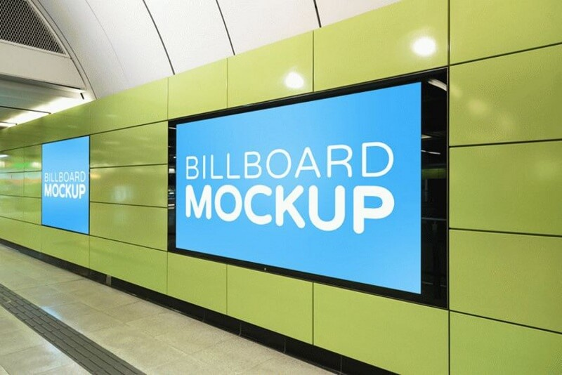 Subway Billboard
