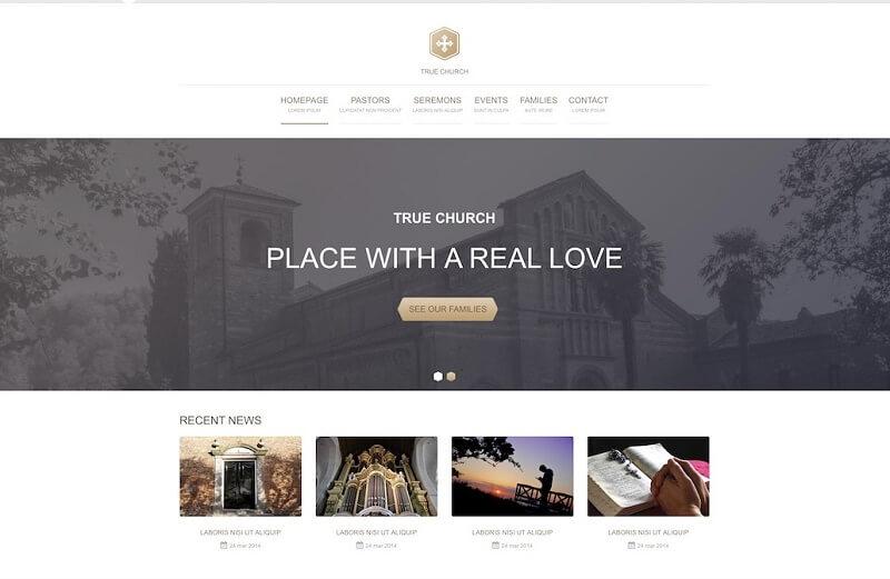Best Free Church Html Website Templates 2020 Digital Template Market