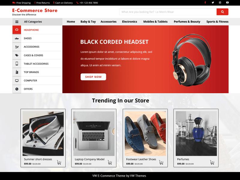 VW E-commerce Shop