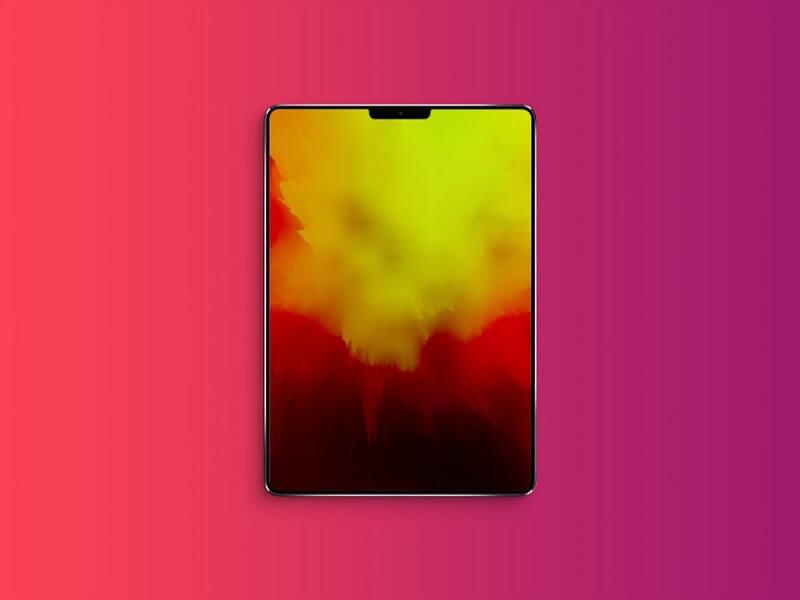 iPad (2018) with Notch
