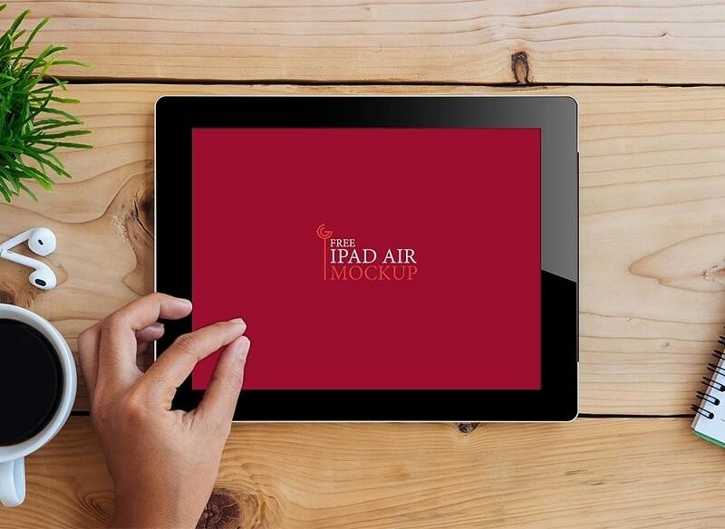 iPad Air on Desk