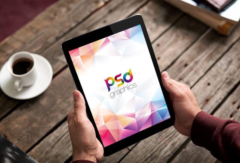 iPad in Hand