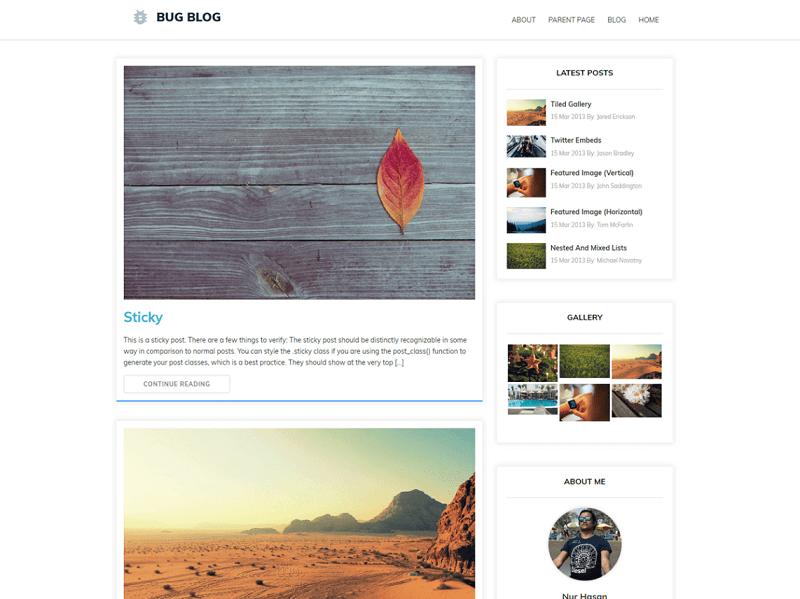 Bug Blog