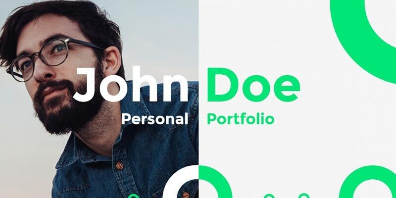 16 Best Free Portfolio PSD Website Templates