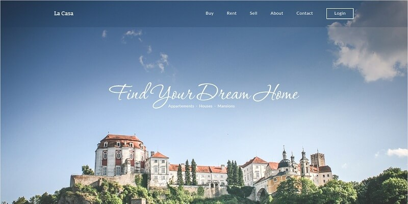 8 Best Free Real Estate PSD Website Templates