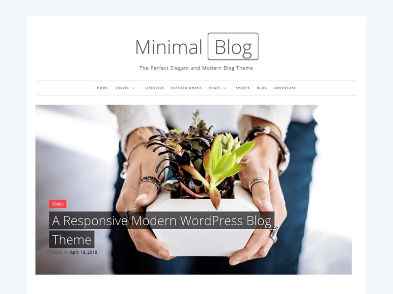 Minimal Blog