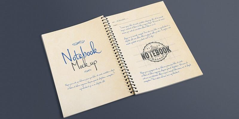 Free Notebook Mockups