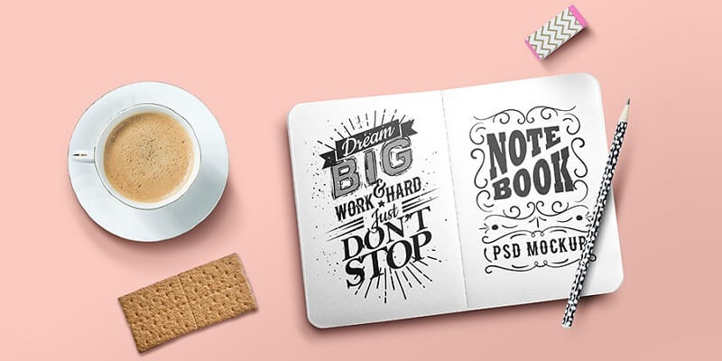 Free Sketchbook Mockups
