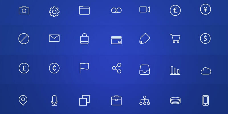 15 Best Free Icons Sets PSD - Digital Template Market
