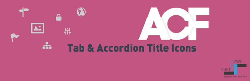 ACF Tab And Accordion Title Icons