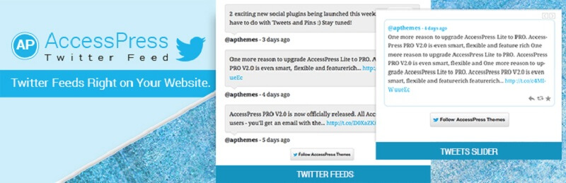 AccessPress Twitter Feed