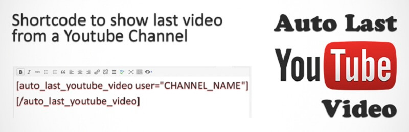 Auto Last Youtube Video