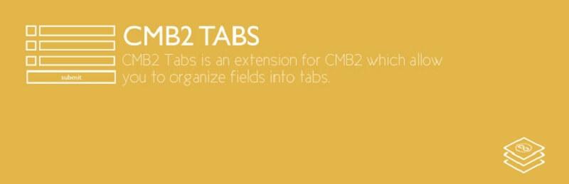 CMB2 Tabs