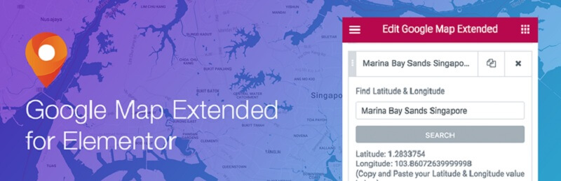 Elementor Google Map Extended
