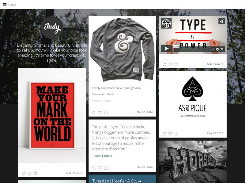 16 Best Free Tumblr Themes 2021 Digital Template Market