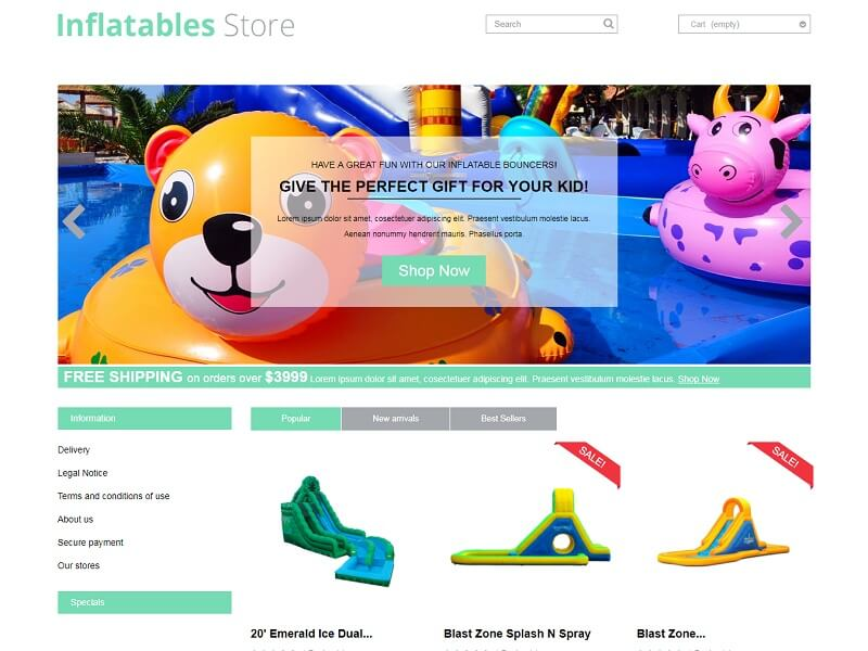 Inflatables Store